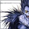 pedestrian: ryuuk from death note smiling (ryuuk, smile)