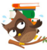 capriciousreadr: Owl w/ books (Default)