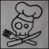 aleecat: (knife, fork, skull)