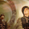 paian: Teal'c and Carter and a stargate offworld (carter teal'c gate by me)