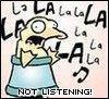 myschyf: (Not listening)