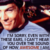 squirelawrence: Spock being awesome (Spock awesome)