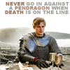 squirelawrence: Arthur Pendragon with quote from Princess Bride (Arthur the Sicilian)
