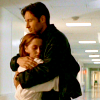 telegramsam: Huggy Mulder and Scully (mulder/scully huggy)