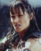 haddayr: Image of Xena, Warrior Princess, fighting in the rain (Xena)