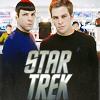 """pixel: Kirk & Spock """"Star Trek"""" (Star Trek 2009) (trek: ks star trek)"""