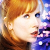 kaffyr: A light-limned portrait of Donna Noble (Luminous Donna)