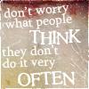 vae: (gen: people don't think)