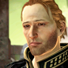 birdhousesoul: Anders is hurt and/or sad. (black coat default)