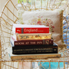 fascination: A stack of books on a chair. (Books on a chair.)