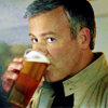 evilawyer: DI Lestrade drinking a beer (Lestrade with Beer  (hounds12copy))