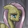 kindestpegasus: (Fluttershy in the rain)