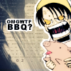 retsuko: watanuki freaking out with a pig in his hands (omgwtfbbq!)