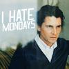 ibiu: (I hate mondays)