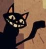 roseembolism: smile (cat)