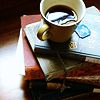 sivaroobini: (tea and books)
