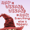 sivaroobini: (Wizard = hat)