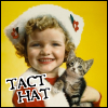 zarhooie: Tact hat with kitty (DW: Tact Hat)