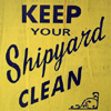 beachlass: text: keep your shipyard clean (clean)