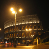 via_ostiense: photo: il colosseo at night (colosseo)