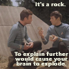 neotoma: Spock explains rocks to McCoy (stupidity)