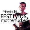 talumin: Text reads: yippee-kai-festivids, motherfucker. (die hard)