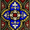 mtl: (Lanning: Stained Glass Flower)