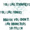 coreopsis: lyrics from Skullcrusher Mountain (monkeys by bloodygoodgirl)