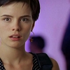 tofightinjustice: Kate Beckinsale, with short hair, staring in shock. (Short sharp shock)
