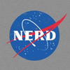 sylleptic: The NASA logo with the name replaced by NERD (science; nasa; nerd)