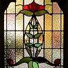 jillian: (stained glass door)