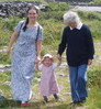 ailbhe: (nana, linnea nana and mammy, three generations)
