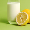 sad_tyger: A glass of milk by a half-slice of lemon. ([stock] if not milk and honey)
