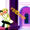 actiaslunaris: Ouran - Tamaki, hugging Kyouya with all his limbs - text: *glomp* (*glomp*)