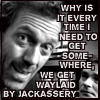 "phinnia: ""why is it every time i try to get somewhere i'm waylaid by jackassery?' (house/blackandwhite-jackassery)"