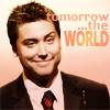 pensnest: Lance Bass looking very smug, caption Tomorrow the world (Lance tomorrow the world)
