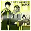 archangelbeth: Zuko and Iroh, when they were running the tea-shop. Captioned: Let's make some TEA (Let's make some TEA)