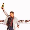 candygramme: (Jensen celebrates)