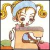 elyse: (gokinjo monogatari: mikako - sewing)
