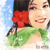 elyse: (sweet days: sweet girl with red flower)