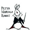 mayhap: Peter Marvolo Rabbit (eeeeeevil)