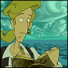 mayhap: captain's log, Guybrush Threepwood (captain's log)