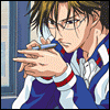 mayhap: Tezuka holds a pen and stares into space (Tezuka writer's block)