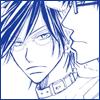mayhap: Tezuka wearing Inui's collar (collar)