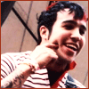 mayhap: Pete Wentz putting a smile on his own face (smile!)