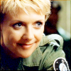jeshyr: Sam Carter looking happy (SG1 - Happy, Samantha Carter, SG1)