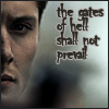 without_me: (SPN Dean gates of hell from flambeau)