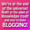 heidi: You're busy blogging! (BusyBlogging)