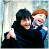 justmods: (ron and harry are bitty baby bffs)