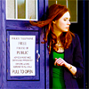 queenofbabble: Doctor Who (Amy in the Tardis)